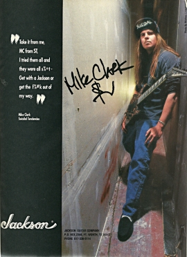 AD: Mike Clark of Suicidal Tendencies for Jackson